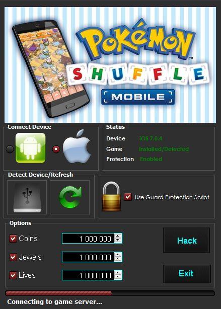 Pokemon Shuffle Mobile Hack