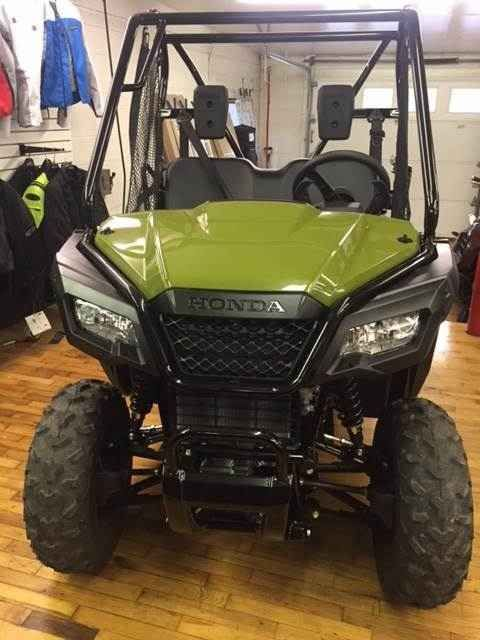 "New 2017 Honda Pioneerâ""¢ 500 ATVs For Sale in Pennsylvania. FULL-SIZED FEATURES IN A FUN-SIZED PACKAGE. Choosing the right tool is the job half done. And it can make whatever you're trying to do a lot more fun. For thousands of side-by-side owners, the right tool for the job is a Honda Pioneer 500. It's big enough to seat two easily, but at just 50 inches wide, it can fit where bigger side-by-sides can't, letting you explore trails with width restrictions. That means it also fits into…"