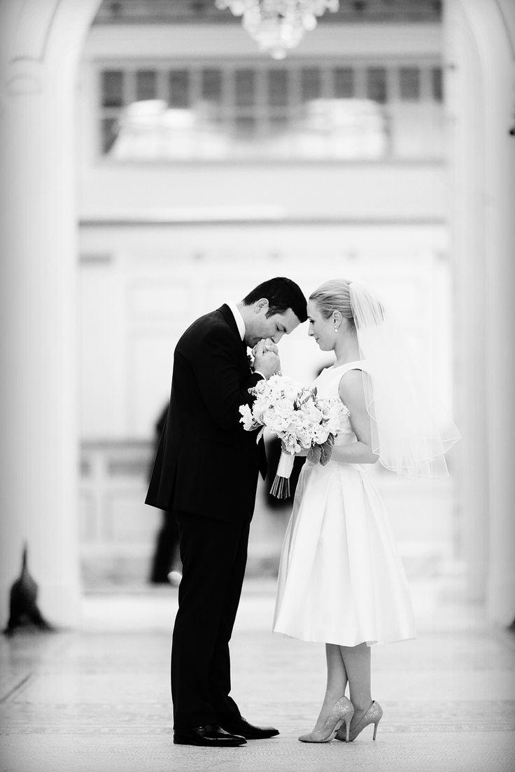 Photography: Alison Conklin Photography - alisonconklin.com Read More: http://www.stylemepretty.com/2014/07/08/elegant-winter-wedding-in-boston/