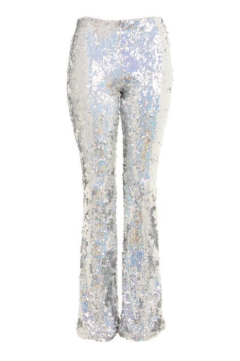 efe909f9e35 Premium Flared Sequin Pants