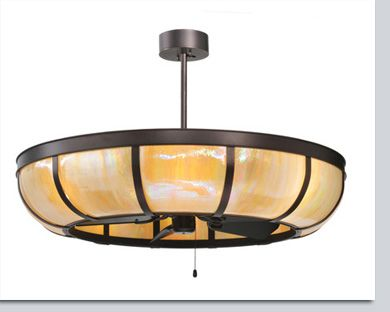 Plain Dome Ceiling Fan Chandelier Available At Grandlight