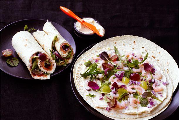 Rapuwrapit http://www.valio.fi/reseptit/rapuwrapit/ #valio #resepti #ruoka #recipe #food