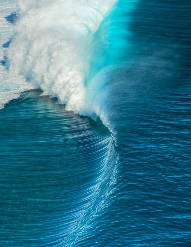 The perfect big wave