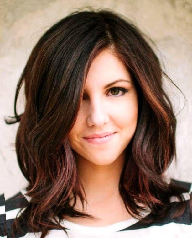 Cute Brunette Medium Hairstyles