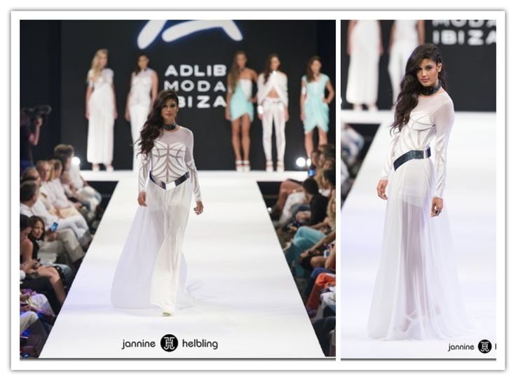 Desfile de JH en Pasarela Adlib 2014 #Patricia Yurena #top model #fashion #made in ibiza