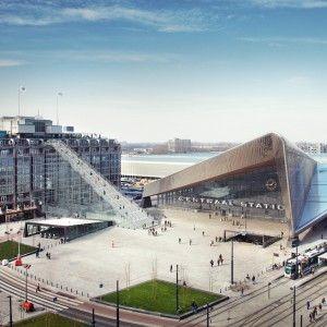 MVRDV+to+build+giant+scaffolding+staircase+in+Rotterdam+city+centre
