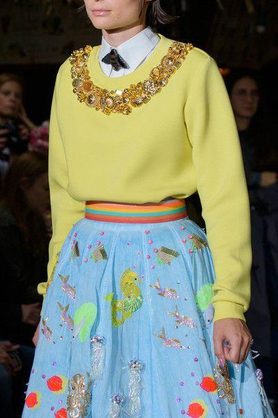 Manish Arora at Paris Fashion Week Spring 2017 - Details Runway Photos