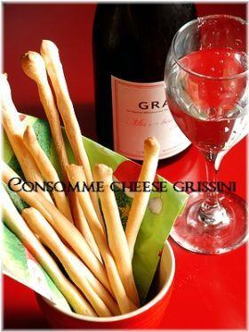 「コンソメチーズグリッシーニ」いたるんるん | お菓子・パンのレシピや作り方【corecle*コレクル】