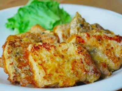 冷凍保存もOK、豚ロース肉で作るポークピカタ