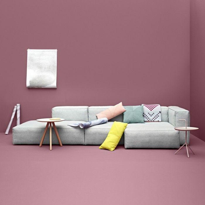 Le canapé modulable soft Mags est disponible dans une large variété de formes et de tissus Kadrat. Décoration et mobilier design à Paris