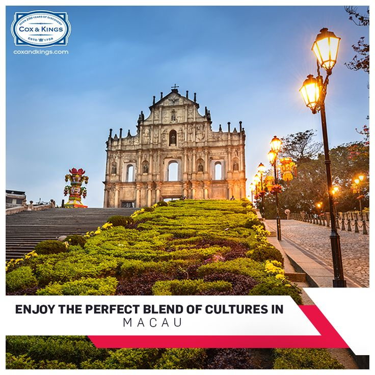 Navigate Mediterranean-style buildings, explore ancient ruins, savour diverse culinary flavours & discover adventure in the former Portuguese colony. Explore the perfect blend of cultures in magnificent Macau:  #ExploreFourCorners