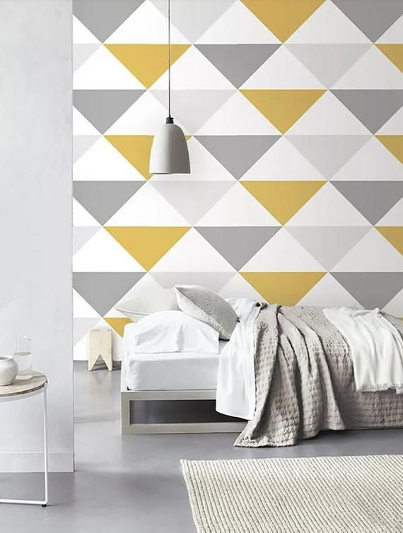 Pin By Ray Weng On Style Design Wallpaper Bedroom Wall Designs Bedroom Wall Bedroom Wall Paint Bedroom wallpaper or paint