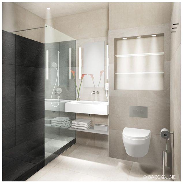 BAROQUINE: Hotelbäder   Suite   4qm   HH-Winterhude