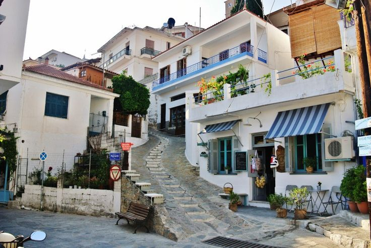 Glossa, Skopelos, Greece - The Village on a Hill @ Pinay Flying High