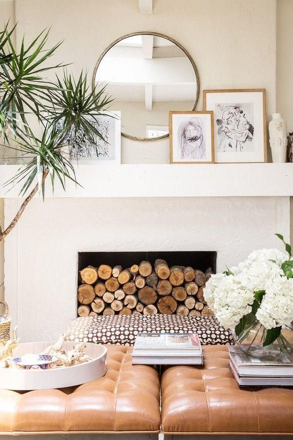Decorating ideas for fireplace and Fire place mantel decor