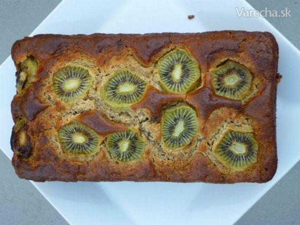 Kivovo-banánový chlieb (Kiwifruit & Banana bread)