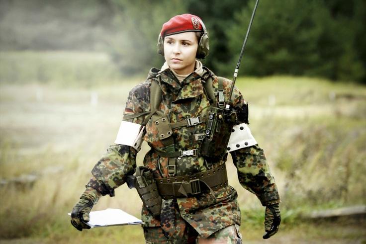 German Army military police, rank captain