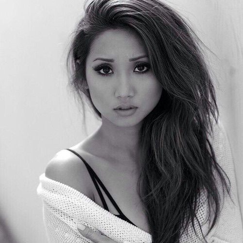 Brenda Song - love her hair and makeup