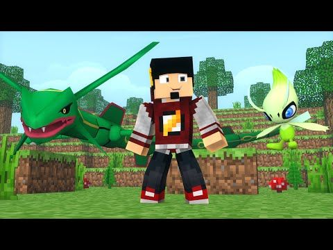 Minecraft: LIGA POKEMON #5 - RAYQUAZA ou CELEBI ‹ AM3NIC › - Best sound on Amazon: http://www.amazon.com/dp/B015MQEF2K -  http://gaming.tronnixx.com/uncategorized/minecraft-liga-pokemon-5-rayquaza-ou-celebi-am3nic/