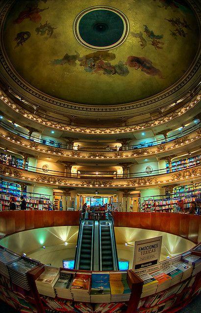 El Ateneo Bookstore, Buenos Aires, Argentina