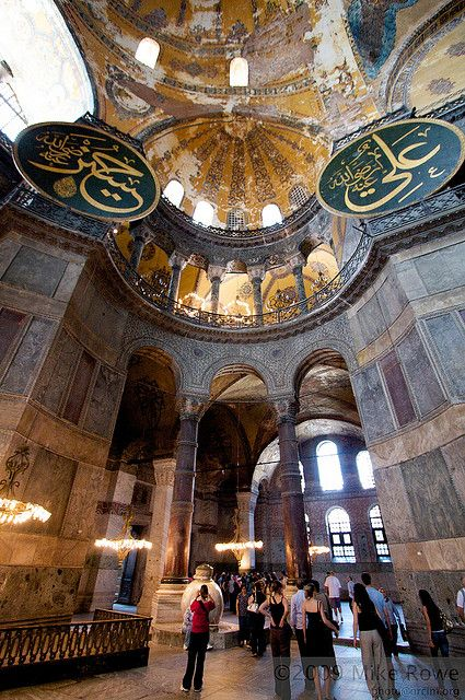 Hagia Sophia, Istanbul, Turkey... A dream of mine is to come here and see this beautiful museum