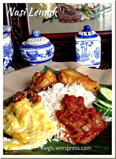 Nasi Lemak!!!Take me back to Singpore.. #SingaporeFoodCravings