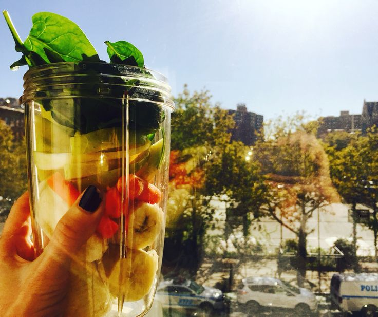 WITC in New York City concocting some delicious smoothie recipes! #breakfast #eatright #food