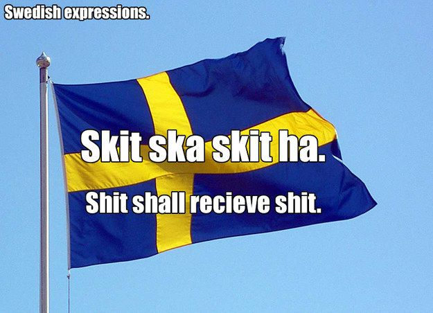 The language is REALLY hard to learn. | 15 Things An American Learns About Sweden After Moving There