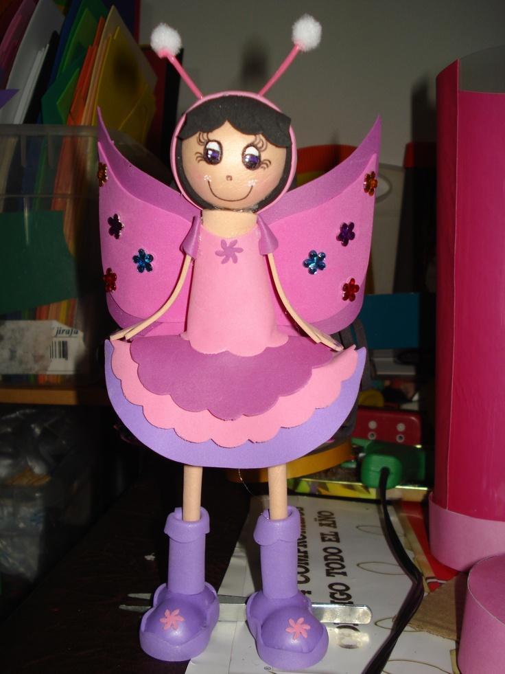 fofucha mariposa