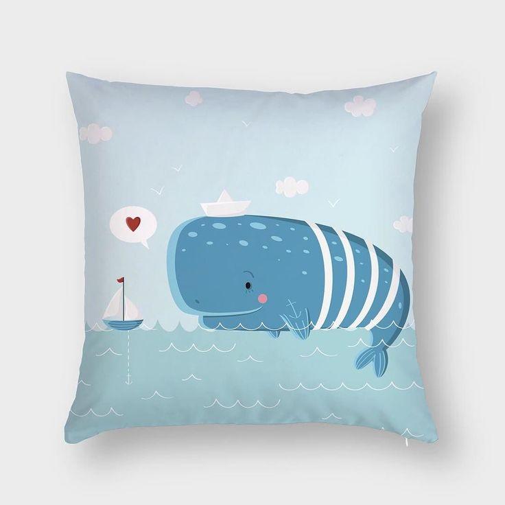 Классного летнего Кита на текстильной интерьерной подушке Hipoco ловите на сайте по названию Автор принта @wonderful_day. #hipoco #hipocopillow #hipocoanimals #pillow#pillows#whale#blue#illustration#fabrics#sea#summermood#graphics#watercolour#иллюстрация#кит#киты#рисунок#рисуйкаждыйдень#рисую#графика#подушка#подушки#голубой#море#детская#акварель hipoco.com