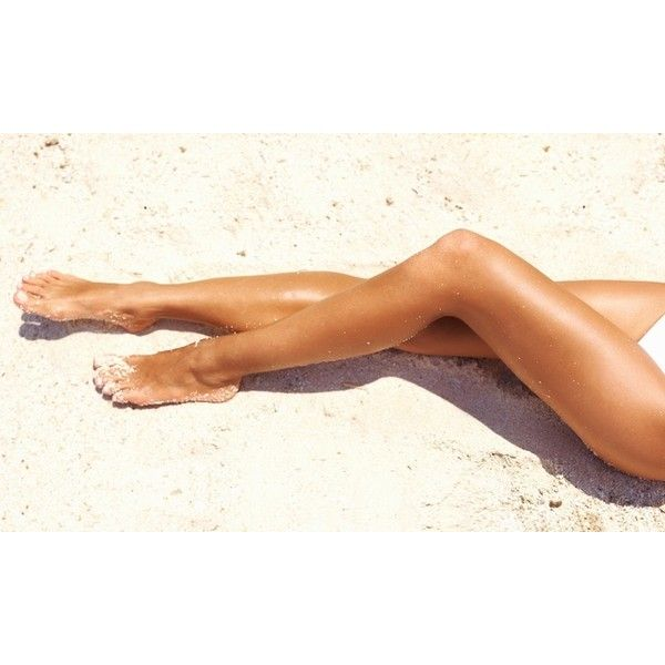 One or Three Spray Tans at Body Bronzer Airbrush Tanning (Up to 58%... ($25) ❤ liked on Polyvore featuring beauty products, bath & body products and sun care