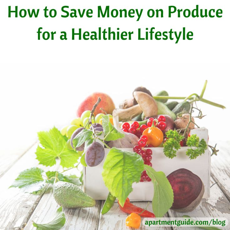 how to save money and eat healthy