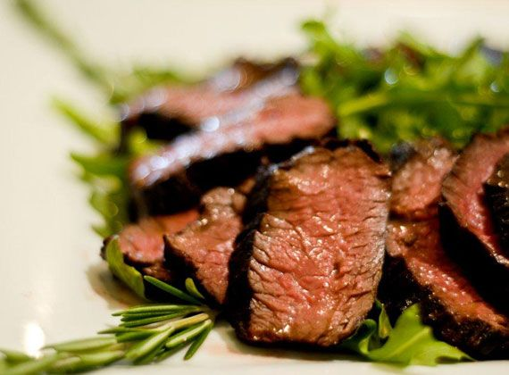 Hangar Steak Marinated in Olive Oil and Balsamic Vinegar | @Omecaterer #njcatering #nycatering #caterersnj | Ome Caterers Catering NJ NY CT | Wedding Reception Ideas Decorations, Bat Mitzvahs, Charity Golf Outing, Fundraising, Corporate, Event Planner