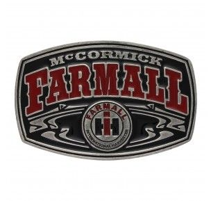 Montana Silversmith Case IH Mccormick Farmall Attitude Buckle - HeadWest Outfitters