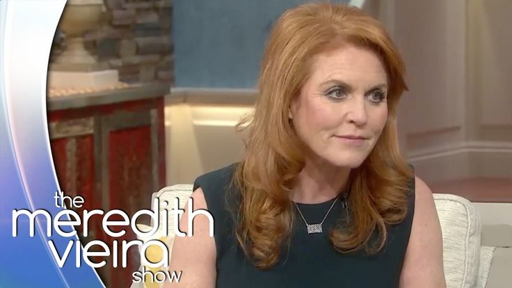 Sarah Ferguson on Prince Andrew's Alleged Sex Scandal | The Meredith Vie...(I really like Fergie the Dutchess of York.