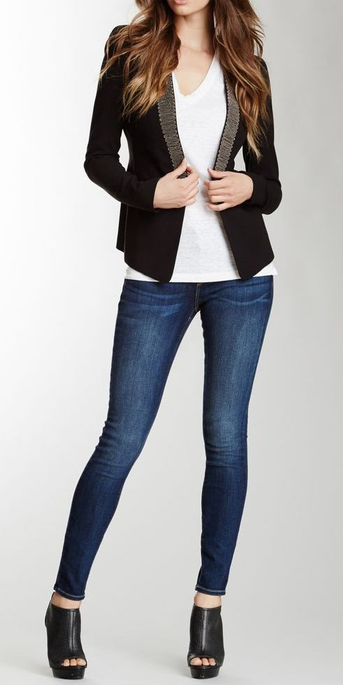 Skinny Marilyn Jean -- but with healed boots or booties..love this!!