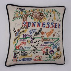 Tennessee State PillowPlaces Ives, Tennessee States, Creative Business, Tennessee Outdoor, Ives Living, Gift I D, States Pillows
