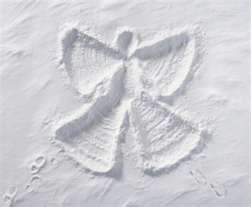 Snow Angels! - I miss doing these!!!!  I need some northern time in my life - sooner rather than later.