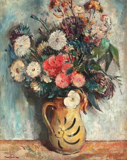 Adam Bălțatu - Ulcică cu flori de câmp