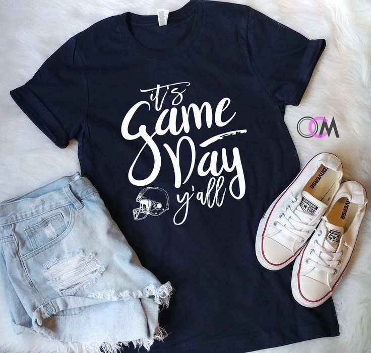 It's Game Day Y'all, Game Day Shirt, Game Day Mode, Football Shirt, Football Mama Shirt, Football Mom Shirt, College Football by 1OneCraftyMomma on Etsy