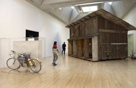 Simon Starling Installation view, Turner Prize 2005 exhibition. Won 2005