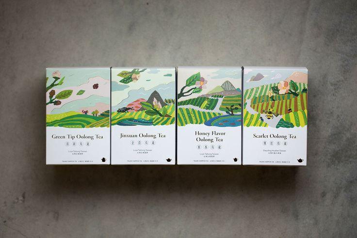 [FongCha] Tea Packaging on Behance