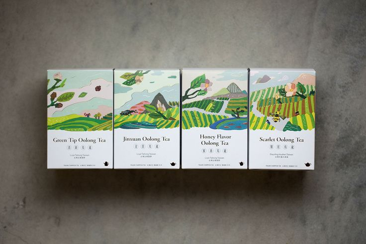 [FongCha] Tea Packaging on Behance