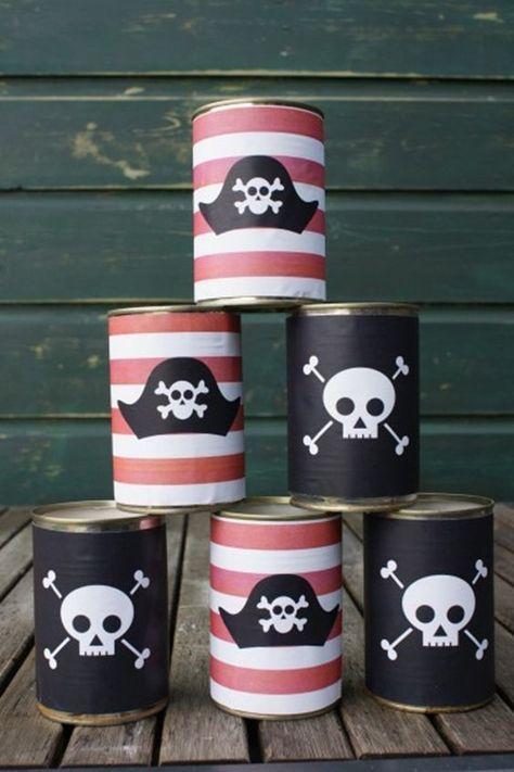 brincadeira festa pirata