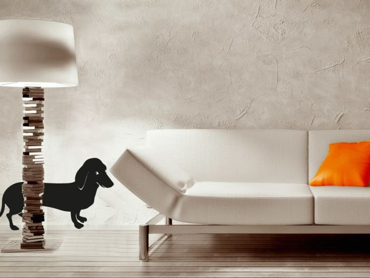 Cane Bassotto > Collezione Animali #wallstickers #mycollection #room #colour #design #home #office #living #animal #dog