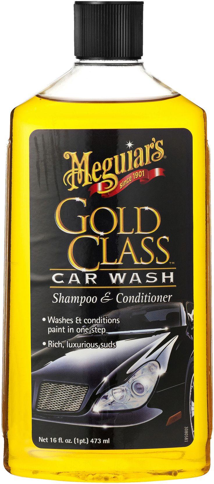 Meguiar's Gold Class Car Wash  Description: Ben je op zoek naar een autowasmiddel dat je auto weer een diepe kleur en glans terug geeft? Stop dan nu maar met zoeken.Meguiar's Gold Class Car Wash.Deze Meguiar's autoshampoo is een hoogwaardige shampoo voor het wassen en onderhouden van je auto. De conditioners zorgen voor een diepe kleur en glans en door het actief schuim wordt vuil gemakkelijk verwijderd. Het vuil wordt als het ware opgetild van het oppervlak; zodat het vervolgens makkelijk…