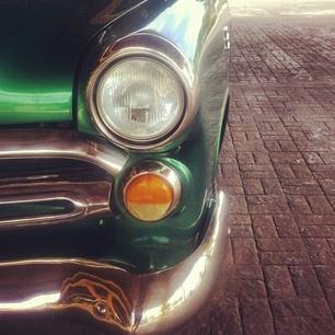Memories of Cuba. #vintage #ford #cuba #green #car