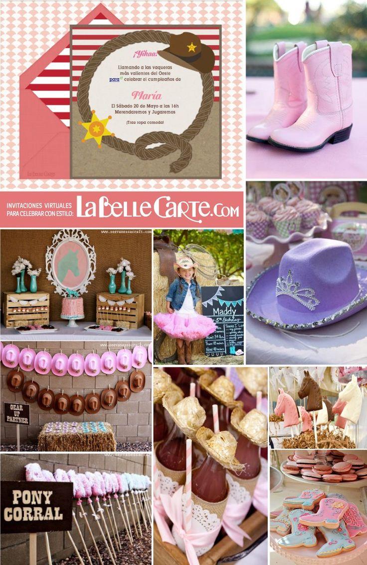 30 best images about fiesta vaquera on pinterest - Ideas decoracion cumpleanos nina ...