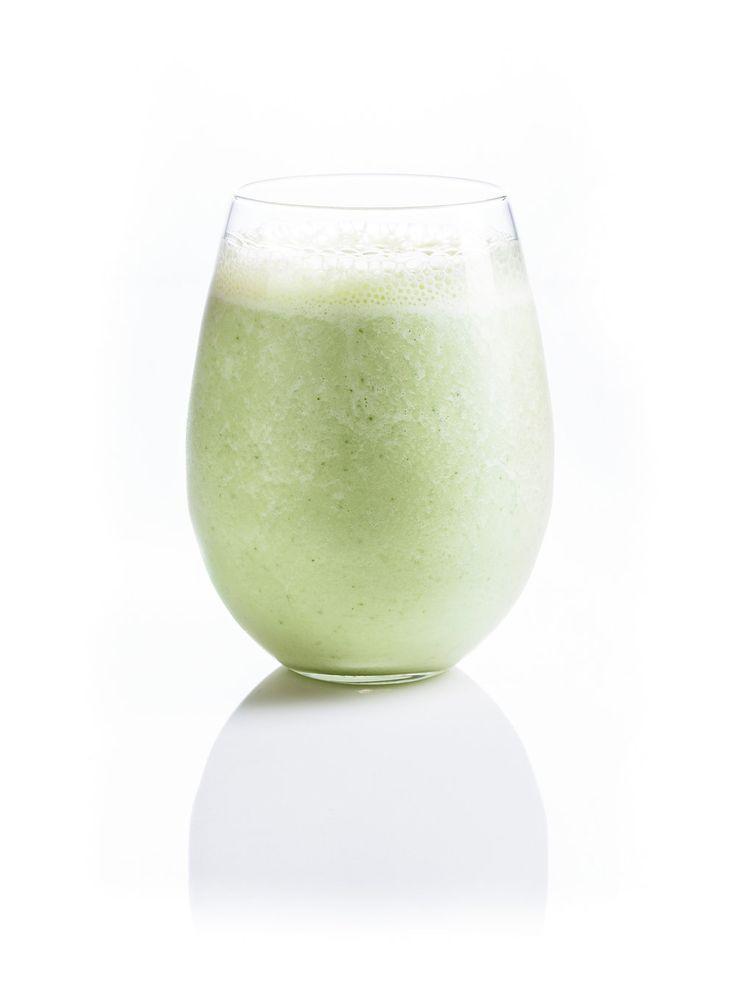 Recette de Ricardo de smoothie concombre-ananas