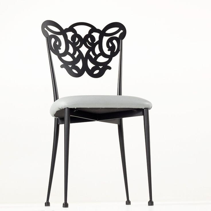 les 25 meilleures id es de la cat gorie chaises en fer forg sur pinterest tabourets de bar en. Black Bedroom Furniture Sets. Home Design Ideas